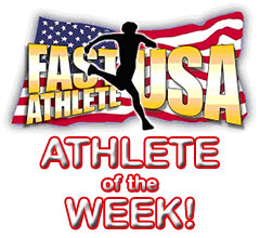 Fast Athlete of the Week!